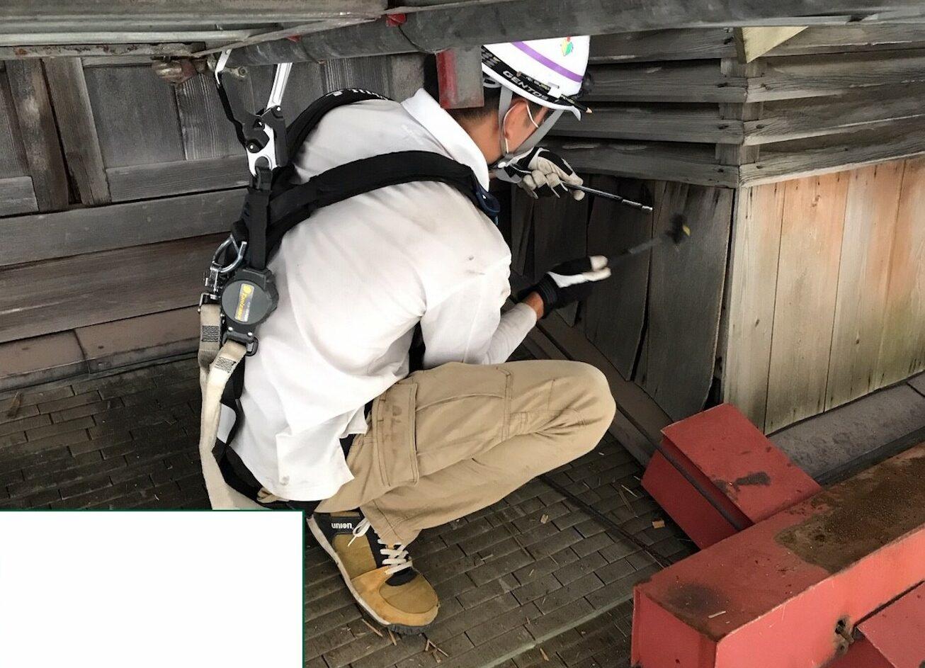 Image of 北海道開拓の村旧武井商店酒造部棟ほか改修工事 21